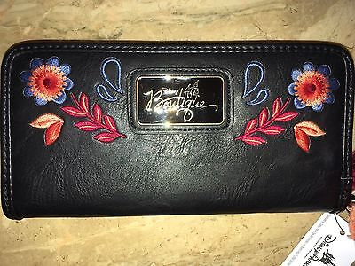 Disney Mickey Mouse Loungefly Boutique Floral WALLET Authentic