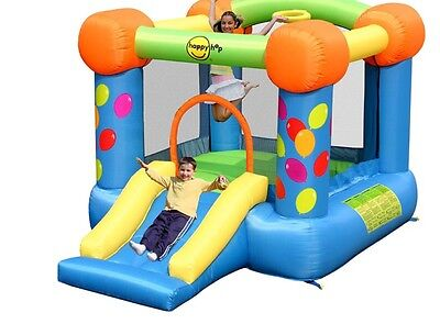 New HAPPY HOP  Jumping Castle with Slide kids party