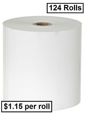 124 80x80 Thermal Cash Receipt Rolls ($1.15 per roll)