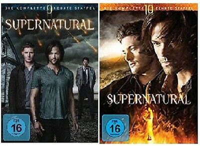 Supernatural - Season / Staffel 9+10 DVD Set * inkl. Staffel 10 / NEU OVP