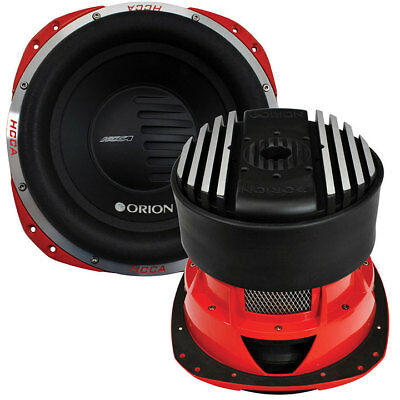 """Orion HCCA102 HCCA 10"""" Woofer Dual 2 Ohm Voice Coil 2000W RMS"""