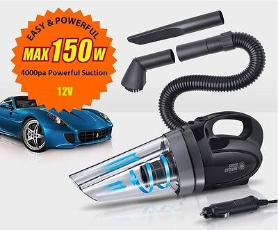 Super Cyclone- Handheld Car Vacuum Vacuum Portable Cleaner  Automobile