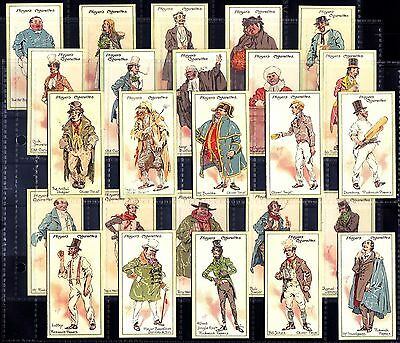 Quality VG+/EX Set Players CHARACTERS FROM DICKENS A Series 1912 Cigarette Cards