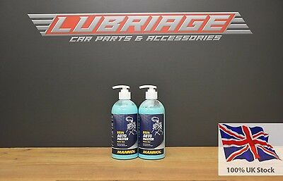2x500 ML AUTO-MASTER HAND GEL - HEAVILY SOILED HANDS CLEANER 1L