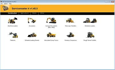 JCB SERVICEMASTER 4 v1.45.3 DVD 2016 LATEST VERSION DIAGNOSTIC SOFTWARE