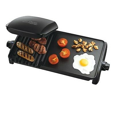 George Foreman 18603 Ten portion Grill and Griddle - Black