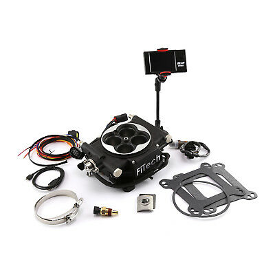 FiTech Go EFI 4 600HP Self-Tuning Fuel Injection System 30002 Black