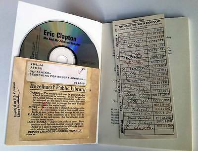 Eric Clapton Promo Robert Johnson Book with CD L00K! Blues
