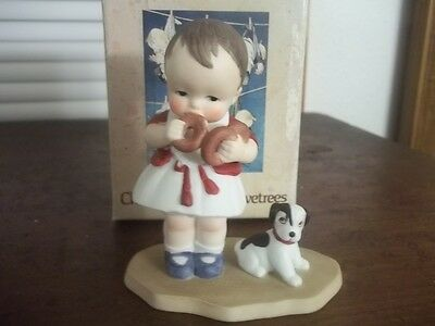 Estate Find Ch Twelvetrees Porcelain Figure With Box Wanting His Fair Share