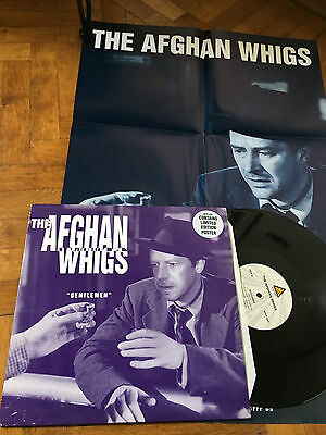 LP UK 1993 POSTER  The Afghan Whigs – Gentlemen. Blast First – BFFP89T.