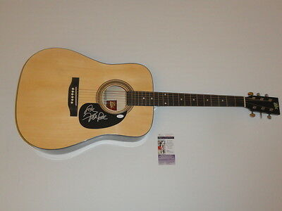 Mike Love Signed Full-Size Natural Acoustic Guitar The Beach Boys Jsa Coa