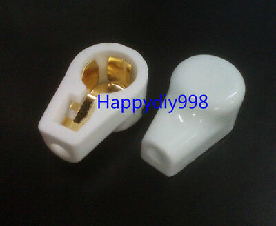 10pc gold plated tube anode caps for 805 813 811