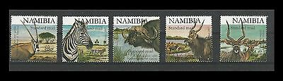Namibia 2007 African Fauna - SAPOA Joint Issue (Black) Single Stamps . MNH