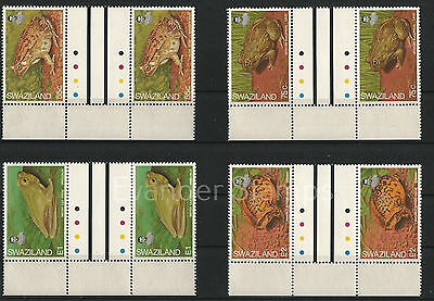 Swaziland 1998 Frogs Gutter Pairs. MNH