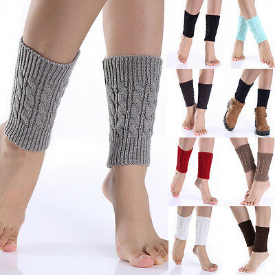 HOT SALE! Fashion Women Girl Lady Short Leg Warmers Hosiery Ankle Boots Socks