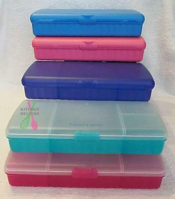 Tupperware Sandwich Keeper Plus has 4 compartments -NEW- Purple or Pink or Blue