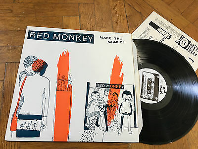 LP UK 1998  Red Monkey – Make The Moment