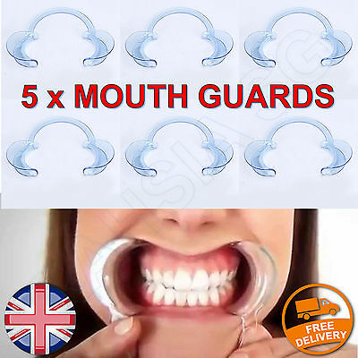 5 x Extra Replacement Mouthpieces For Use With Speak Out Board Game Mouth Piece