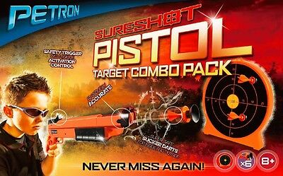 Sureshot - Pistol And Target Combo Pack