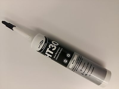 Bond It HT30 High temperature Black Heat Resistant 300 degrees Silicone sealant