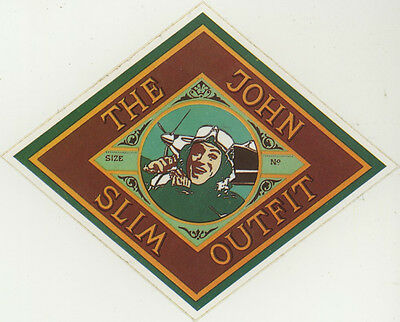 Sticker: The John Slim Outfit