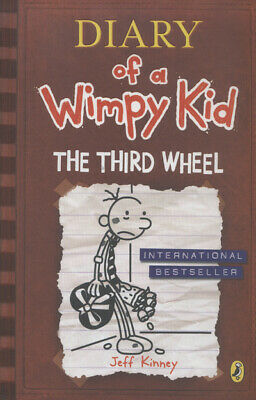 Diary of a wimpy kid: The third wheel by Jeff Kinney (Hardback) Amazing Value