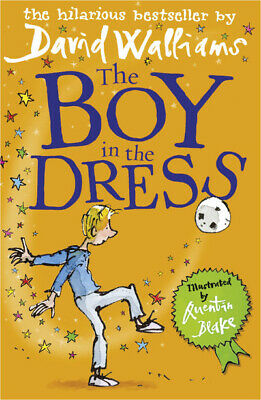 The boy in the dress by David Walliams (Paperback) Expertly Refurbished Product