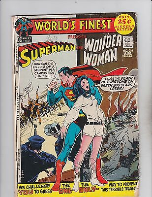 DC Comic! World's Finest! Issue 204!