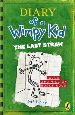 Diary of a wimpy kid: The last straw by Jeff Kinney (Paperback) Amazing Value