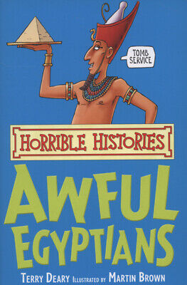 Horrible histories: Awful Egyptians by Terry Deary (Paperback)