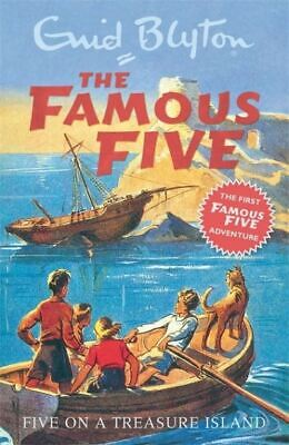 The Famous Five: Five on a treasure island by Enid Blyton (Paperback)