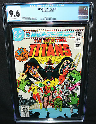 New Teen Titans #1 - George Perez Art - CGC Grade 9.6 - 1980