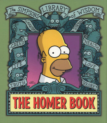 The Simpsons library of wisdom: The Homer book. by Matt Groening (Hardback)