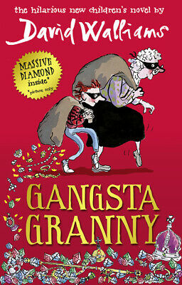Gangsta granny by David Walliams (Hardback) Incredible Value and Free Shipping!