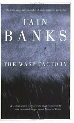 The wasp factory by Iain Banks (Paperback)
