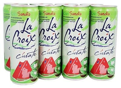 LaCroix - 100% Natural Sparkling Water Kiwi Watermelon - 8 Can(s)