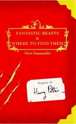 Fantastic beasts and where to find them by J.K. Rowling (Paperback)