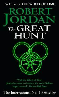 The wheel of time: The great hunt by Robert Jordan (Paperback)