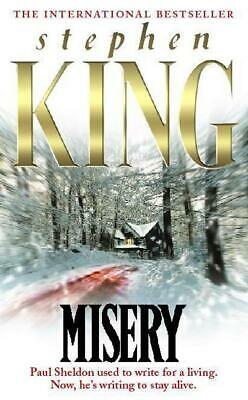 Misery by Stephen King (Paperback)