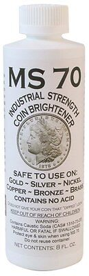 MS-70 8 oz. Coin Cleaner (Qty = 1 Bottle)
