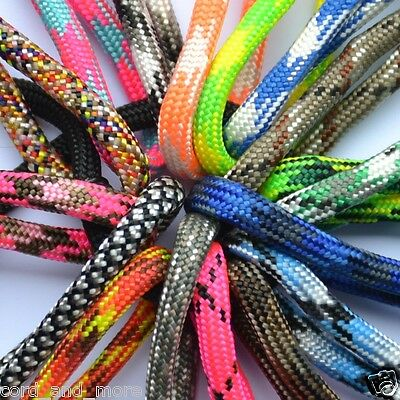 5 Meter Paracord 550 TYP 3, mehrfarbig, MIL-C-5040, Made In USA