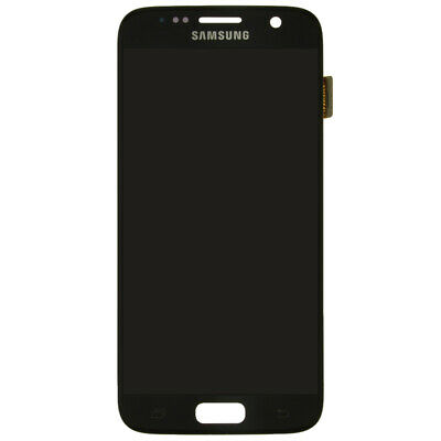 LCD Digitizer Assembly for Samsung G930 Galaxy S7 Black Onyx OEM Touch Screen