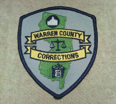 NJ Warren County New Jersey Corrections Patch