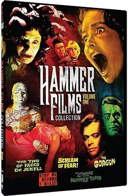 Hammer Film Collection 1 - 5 Movie Pack - 2 DISC SET (2015, DVD New)