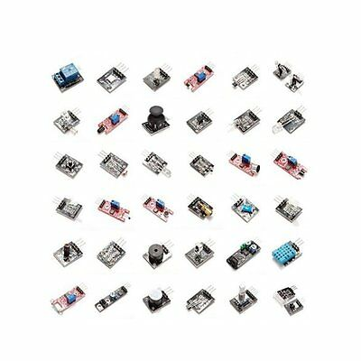 37 Sensors Assortment Kit  in 1 Sensor Module Starter Kit  Arduino MCU Education