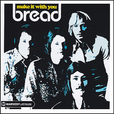 BREAD - MAKE IT WITH YOU CD ~ GREATEST HITS / BEST OF COLLECTION ~ 70's *NEW*