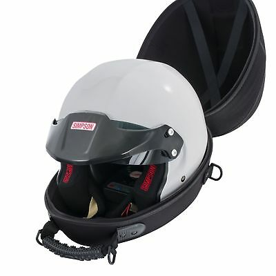 Headcase Race / Rally Protective Helmet/Lid Carry Case With Integral Fan