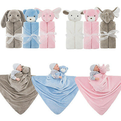 Baby Swaddling Blanket Soft Velvet Newborn Infant  Winter Warm Swaddle Towel New