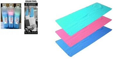 New Instant Cooling Towel Sports Gym Towel Drying Sweat Baby Absorb Dry Case