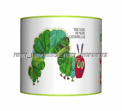 The Very Hungry Caterpillar ☆ CEILING LAMPSHADE ☆ BOYS / GIRLS LAMP SHADE